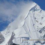 Neelkanth Peak seen from Hemkund Sahib